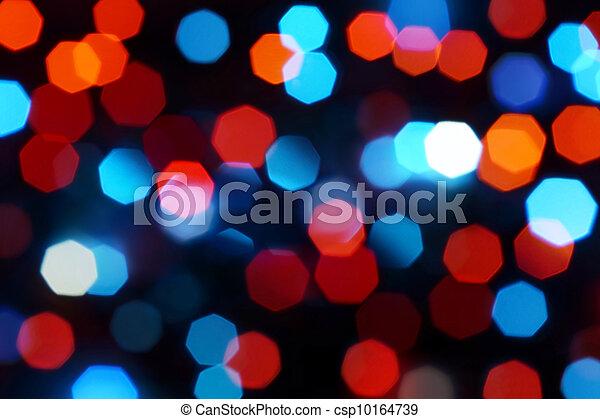 Holiday defocused lights - csp10164739
