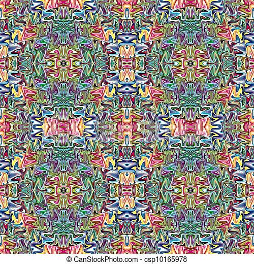 Native American textile designs - csp10165978