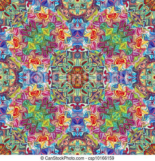 Native American textile designs - csp10166159