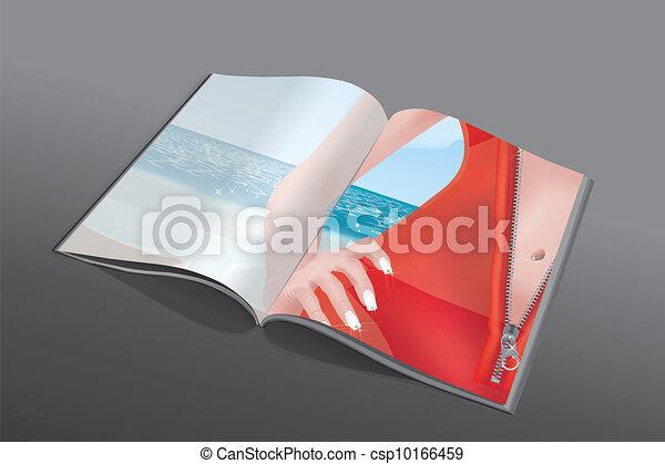 zip magazine - csp10166459