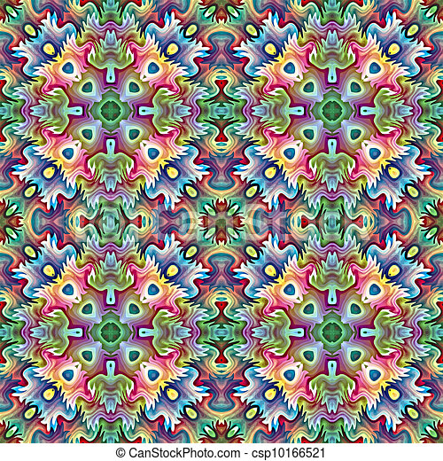 Native American textile designs - csp10166521