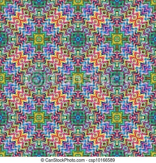 Native American textile designs - csp10166589