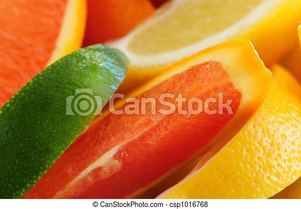 Citrus wedges - csp1016768