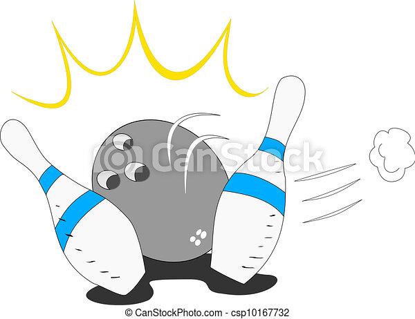 Bowling is fun - csp10167732
