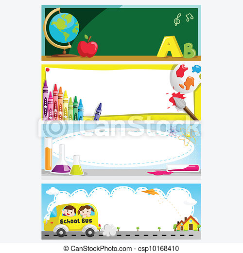 Education banners - csp10168410