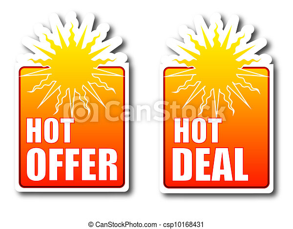 Hot offer Hot deal badges - csp10168431