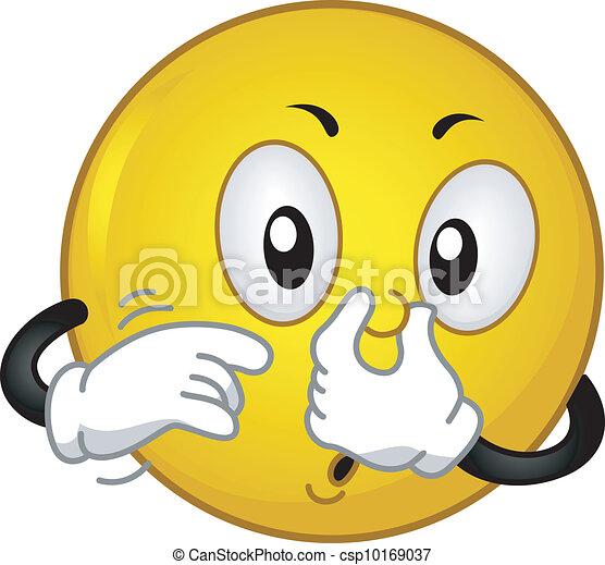 vecteurs de mauvais smiley odeur illustration caract riser a csp10169037 recherchez. Black Bedroom Furniture Sets. Home Design Ideas