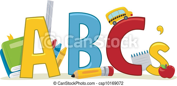 Learning ABCs - csp10169072
