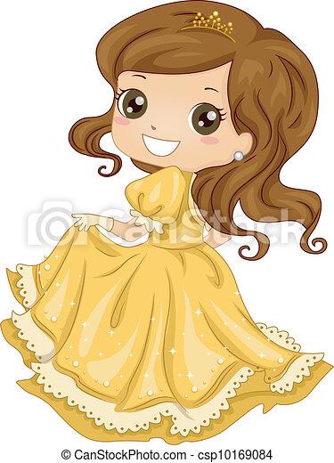 Princess Gown - csp10169084