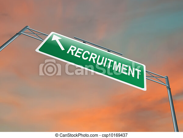 Recruitment concept. - csp10169437
