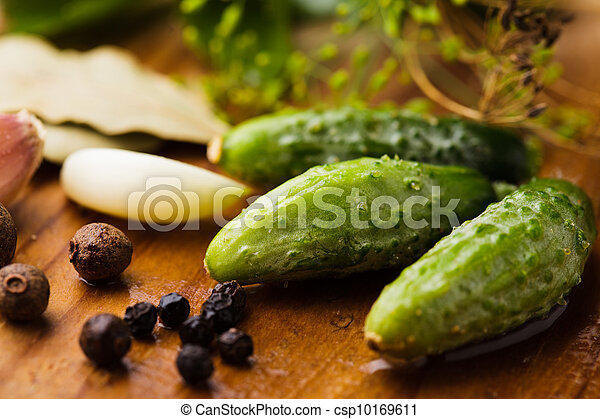 Preparation of small cucumber - csp10169611