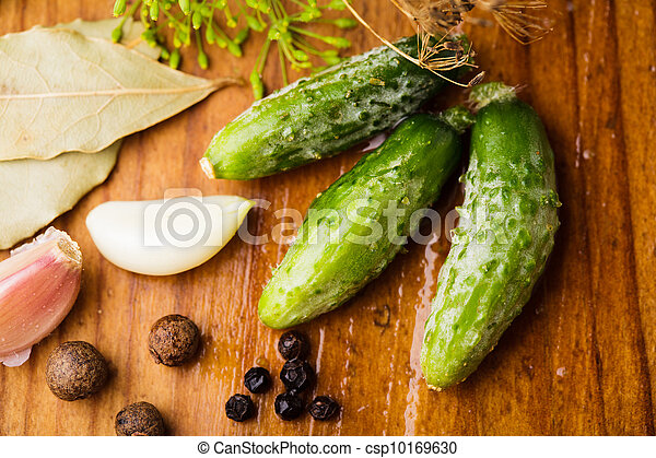 Preparation of small cucumber - csp10169630