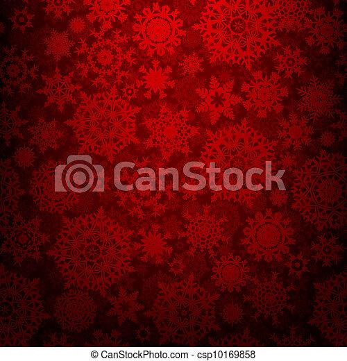 Seamless deep red christmas texture. EPS 8 - csp10169858