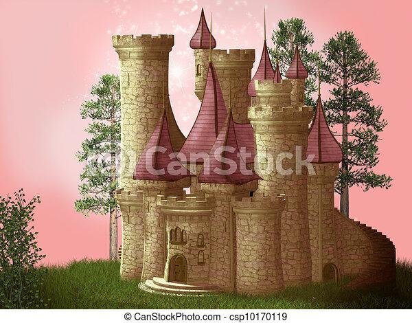 Fantasy castle - csp10170119
