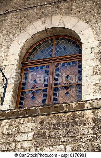 Old window in Assisi - csp10170901