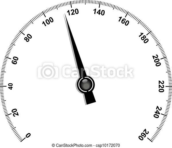 Needle speedometer - csp10172070