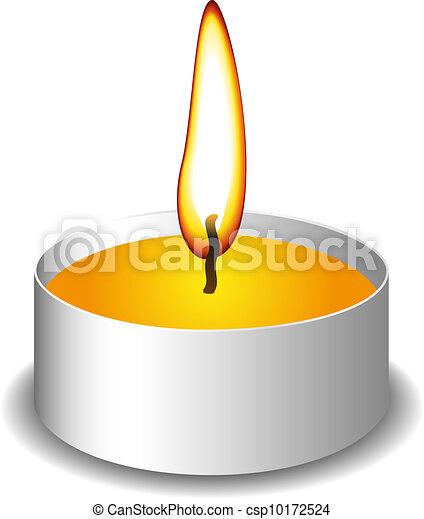 illustration vecteur de bougie flamme bougie flamme fire sur blanc fond. Black Bedroom Furniture Sets. Home Design Ideas