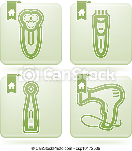 bathroom utensils and other related everyday things from left to right