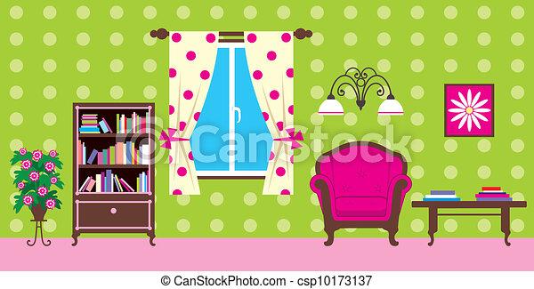 Living room - csp10173137
