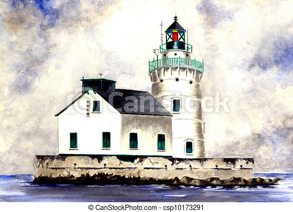 West Pierhead Lighthouse - csp10173291