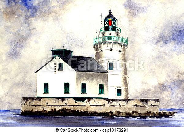 West Pierhead Lighthouse - csp10173291
