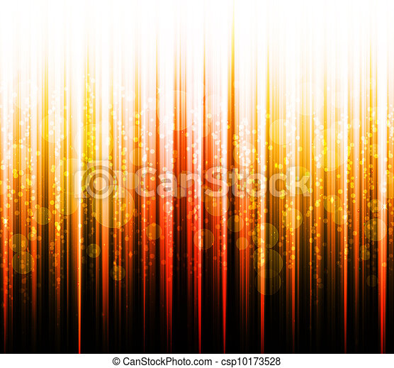 Abstract gold colours on a white and black background spectrum - csp10173528