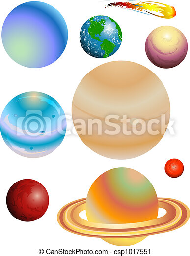 Planets Clipart Outer Space Clipart Solar System Clip