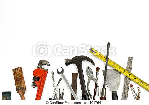 viejo, herramientas - csp1017641