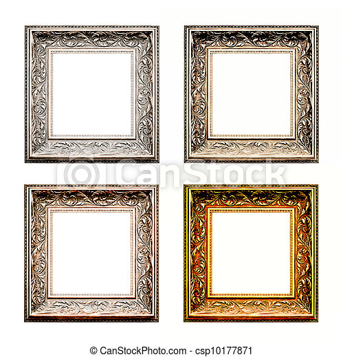old antique frame set - csp10177871