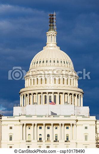 US Capitol dome - csp10178490