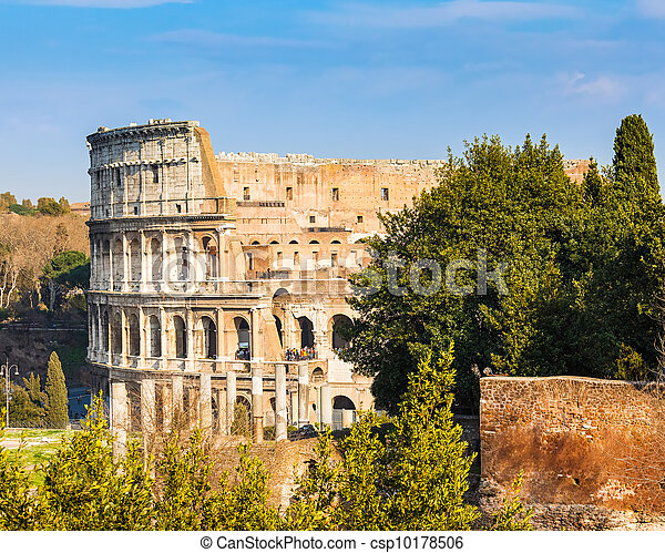 Coliseum in Rome - csp10178506