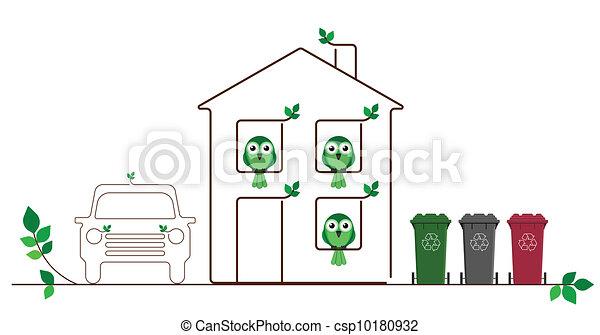 Eco friendly family  - csp10180932