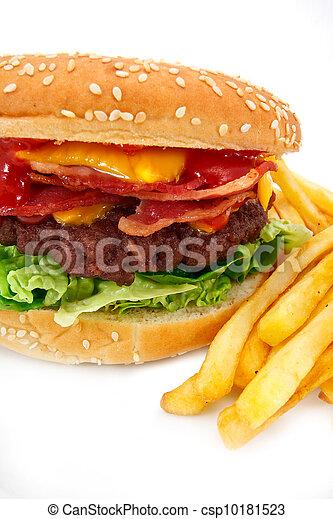 Bacon Cheeseburger Clip Art Gourmet bacon cheeseburgerBacon Cheeseburger Clip Art