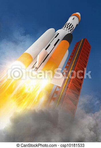 Blast Off! - csp10181533