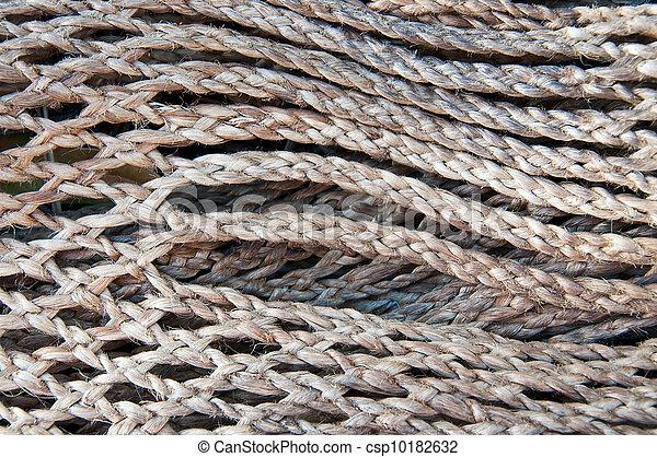 Twine manila rope  pattern - csp10182632