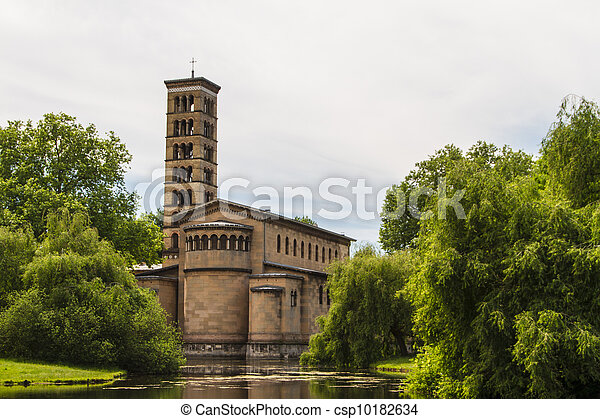 A church in Potsdam Germany on UNESCO World Heritage list - csp10182634