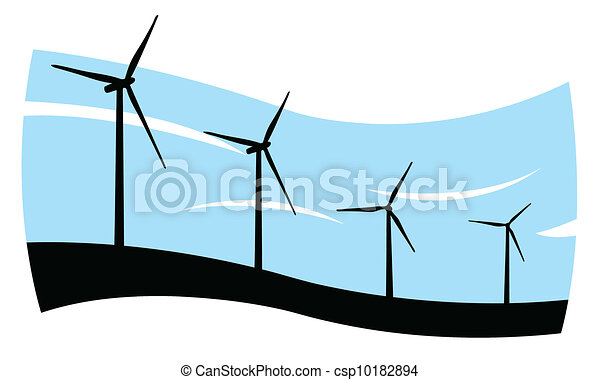 wind turbines - csp10182894