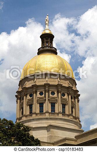 Georgia Capitol Dome - csp10183483