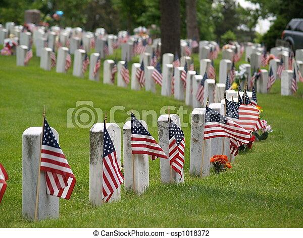 memorial day - csp1018372