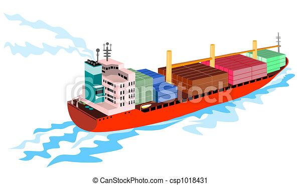 Container ship - csp1018431