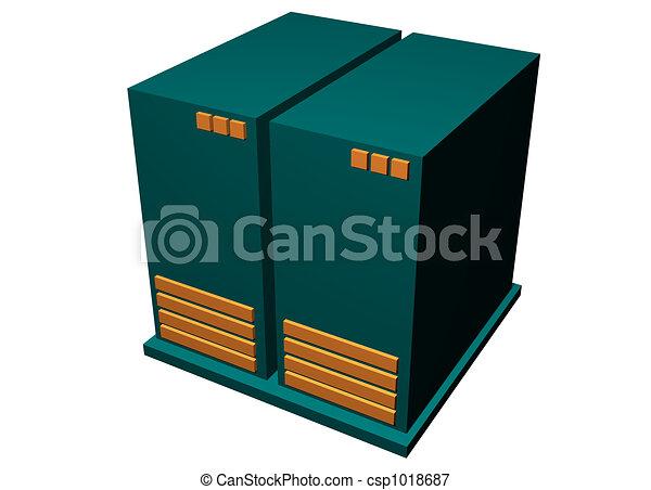Server Mainframe Hardware - csp1018687