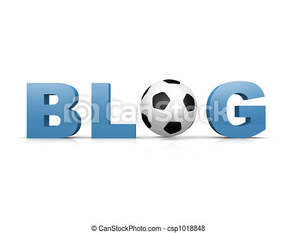 Soccer Blog - csp1018848