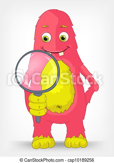 Funny Monster. Search. - csp10189256