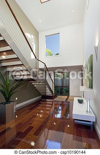 stock foto von modern haus inneneinrichtung mit. Black Bedroom Furniture Sets. Home Design Ideas