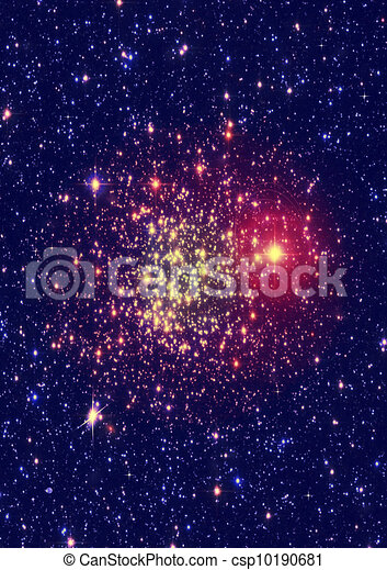 illustration de loin loin galaxie toiles de a plan te et galaxie csp10190681. Black Bedroom Furniture Sets. Home Design Ideas