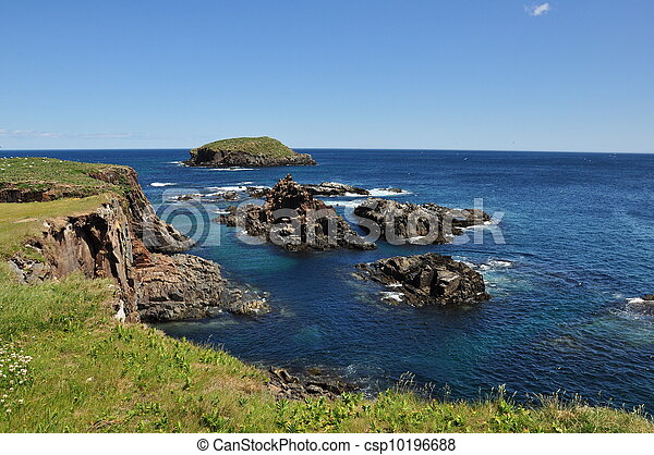 rocky coastline of Newfoundland - csp10196688