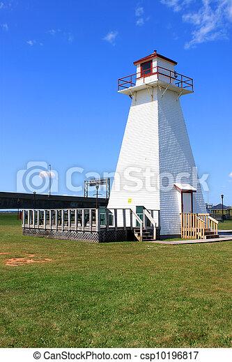 P.E.I. lighthouse at Borden - csp10196817