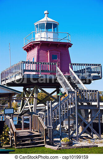 Two Rivers lighthouse - csp10199159