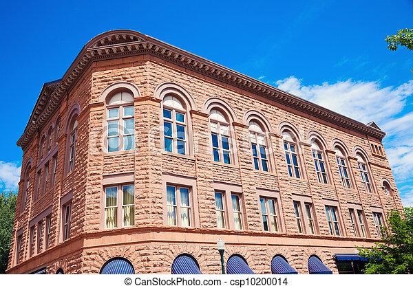 Historic building in Aspen - csp10200014