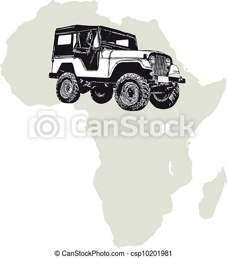 Africa offroad - csp10201981
